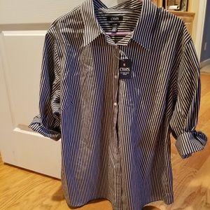 Chaps womens blouse